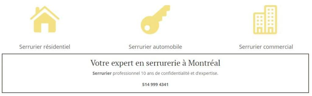Serrurier Montreal