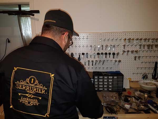 atelier de serrurier