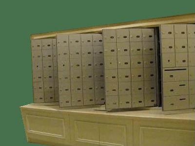 boites à lettre d'immueble (Riopel)